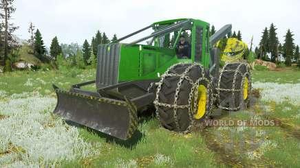 John Deere 748H v1.1 für MudRunner