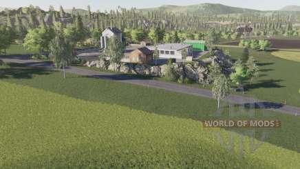 La vieille ferme Countrysidᶒ pour Farming Simulator 2017