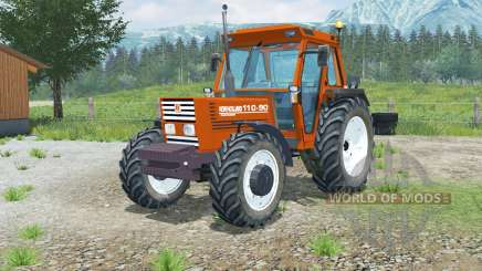 Nouveau Hollanɗ 110-90 pour Farming Simulator 2013