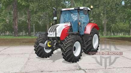 Steyr 4130 Profi CVT für Farming Simulator 2015