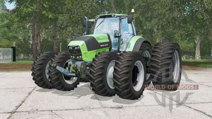 Deutz-Fahr 7250 TTV Agrotrƍn pour Farming Simulator 2015