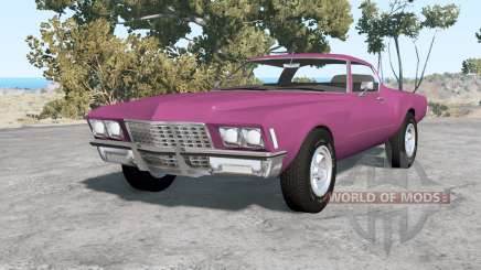 Buick Riviera (49487) 1971 v1.1 pour BeamNG Drive