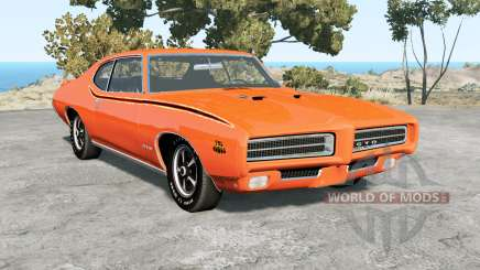 Pontiac GTO The Judge 1969 pour BeamNG Drive