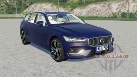 Volvo V60 T6 Inscription 2018 v1.2.1 für Farming Simulator 2017