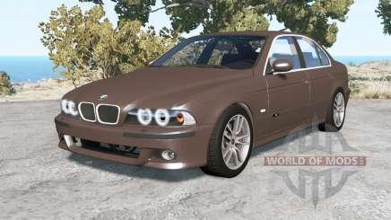 BMW M5 (E39) 2001 v1.18 pour BeamNG Drive