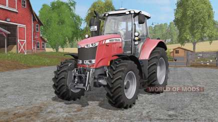 Massey Ferguson 6600-serieᵴ pour Farming Simulator 2017