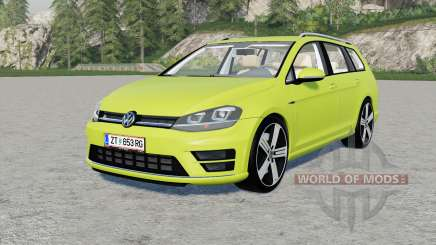 Volkswagen Golf R Variant (Typ 5G) 2015 pour Farming Simulator 2017