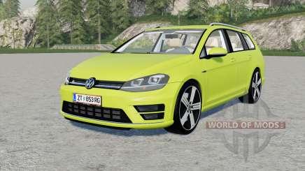Volkswagen Golf R Variant (Typ 5G) 2015 für Farming Simulator 2017