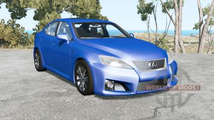 Lexus IS F (XE20) 2008 pour BeamNG Drive