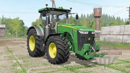 John Deere 8R-seꞧies pour Farming Simulator 2017