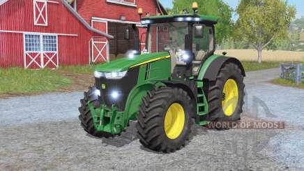 John Deere 7290R - 7310Ɍ pour Farming Simulator 2017