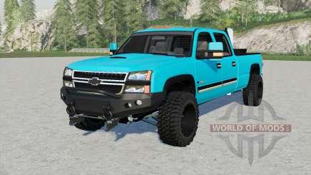 Chevrolet Silveradꝋ für Farming Simulator 2017