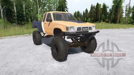 Toyota Hilux Xtra Cab crawler pour MudRunner