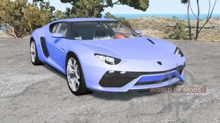 Lamborghini Asterion LPI 910-4 2014 pour BeamNG Drive
