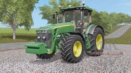 John Deere 8320R et 8370Ꞧ pour Farming Simulator 2017