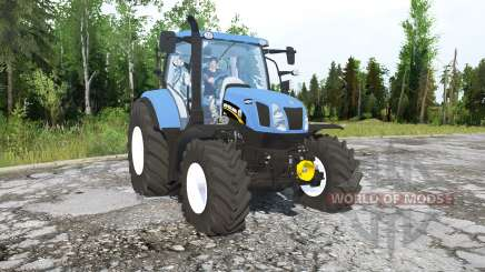 New Holland T6.160 pour MudRunner