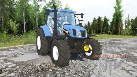 New Holland T6.160 für MudRunner