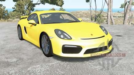 Porsche Cayman GT4 (981C) 201ⴝ pour BeamNG Drive