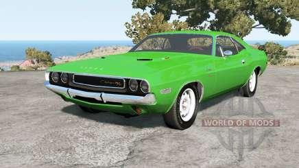 Dodge Challenger RT hardtop (JS-23) 1970 pour BeamNG Drive