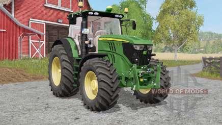 John Deere 6170R et 6210Ɍ pour Farming Simulator 2017