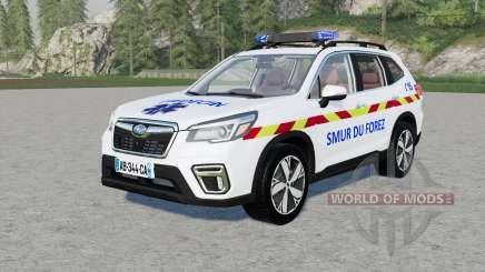 Subaru Forester SMUR für Farming Simulator 2017