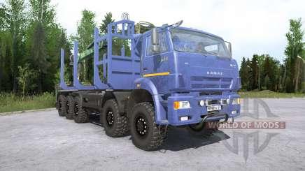 Kamaz-7330 für MudRunner