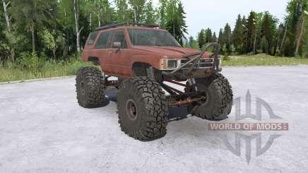 Toyota 4Runner (LN61) lifted für MudRunner