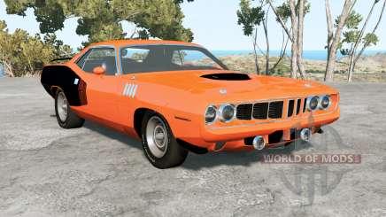 Plymouth Hemi Cuda 1971 pour BeamNG Drive