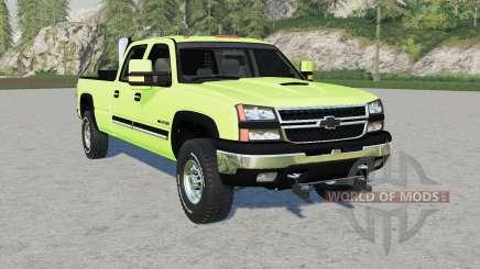 Chevrolet Silveradꝍ pour Farming Simulator 2017