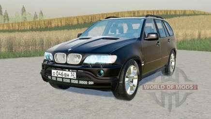 BMW X5 4.4i (E53) 2001 für Farming Simulator 2017