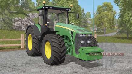 John Deere 8R-seꭇies pour Farming Simulator 2017