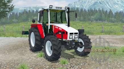 Steyr 8090A Panorama für Farming Simulator 2013
