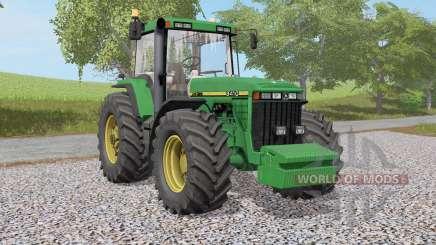 John Deere 8400 - 8Ꝝ10 pour Farming Simulator 2017
