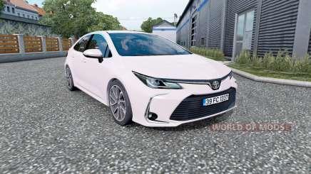 Toyota Corolla hybrid sedan 2020 pour Euro Truck Simulator 2