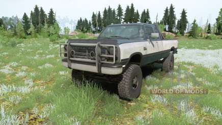 Dodge Power Ram 250 Club Cab 1990 pour MudRunner