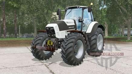 Deutz-Fahr 7250 TTV Agrotrân pour Farming Simulator 2015