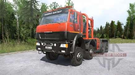 Kamaz-6522৪ für MudRunner