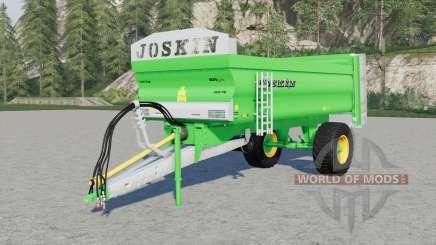 Joskin Ferti-Cap 4008-9U & 5508-12U für Farming Simulator 2017