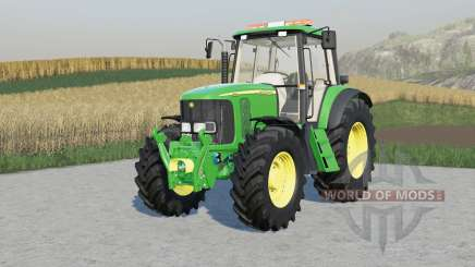 John Deere 6020-seriᶒs pour Farming Simulator 2017