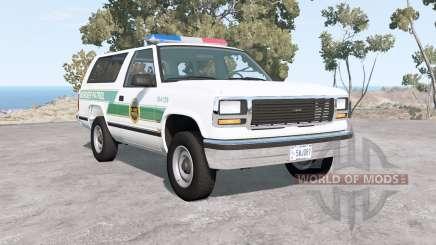 Gavril D-Series U.S. Border Patrol pour BeamNG Drive