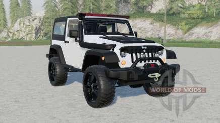 Jeep Wrangler Rubicon (JƘ) für Farming Simulator 2017