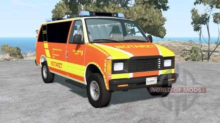 Gavril H-Series German Emergency für BeamNG Drive