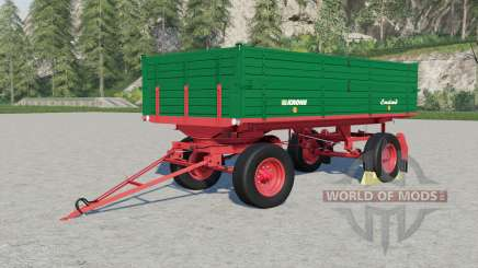 Krone DK 220-৪ für Farming Simulator 2017