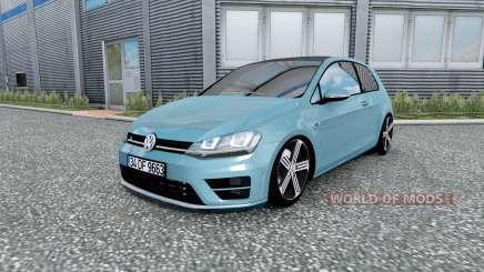 Volkswagen Golf R-Line (Typ 5G) 2013 v2.0 pour Euro Truck Simulator 2