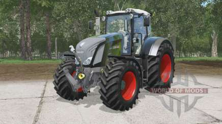 Fendt 828 Vario Schwarz Beautɤ für Farming Simulator 2015