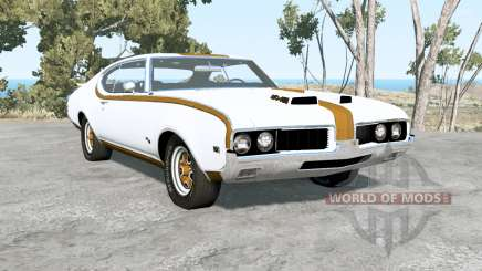 Oldsmobile 442 Hurst holiday coupe (4487) 1969 pour BeamNG Drive