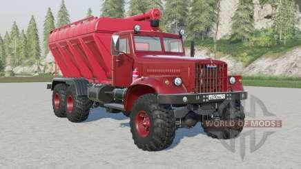 KrAz-255B SSC-15 für Farming Simulator 2017