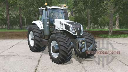 New Holland T8.320 Ultra White pour Farming Simulator 2015