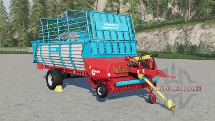 Mengele Garant 432 pour Farming Simulator 2017