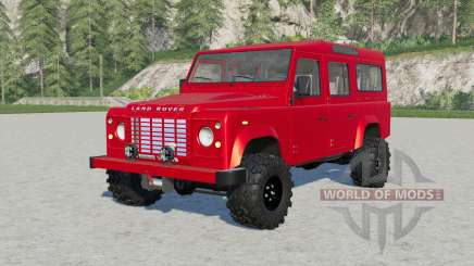 Land Rover Defender 110 Station Wagon für Farming Simulator 2017